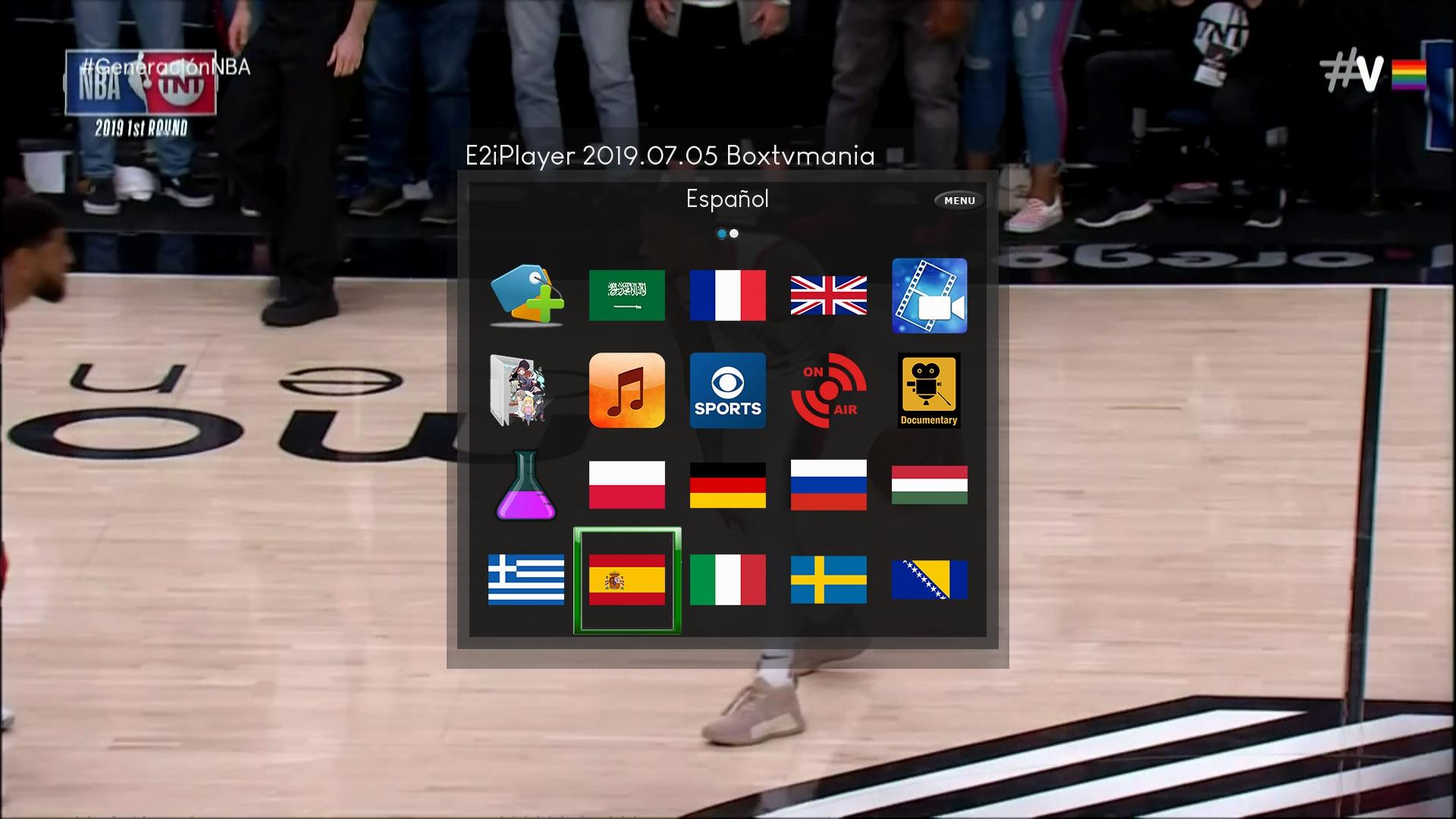 E2iplayer Actualizacion 05/07/2019 – boxtvmania
