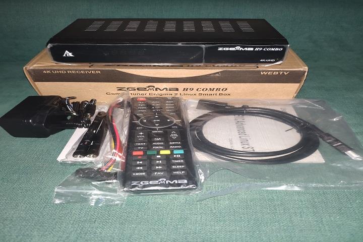 caja zeggema h9 accesorios